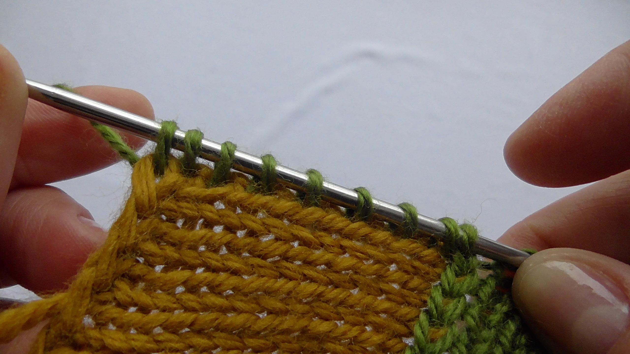 Вязание следков