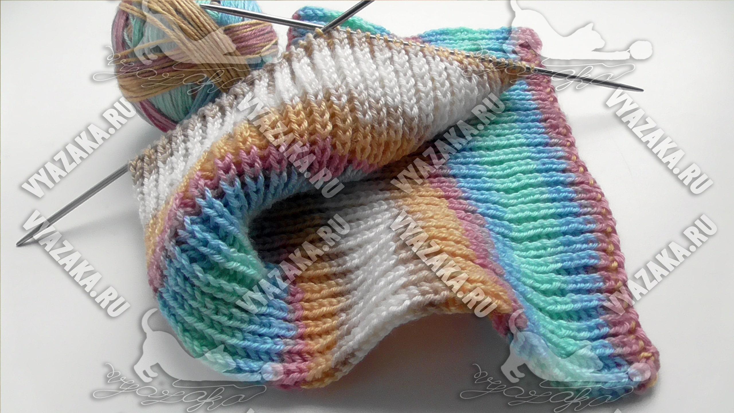 английская резинка вязание спицами и крючком